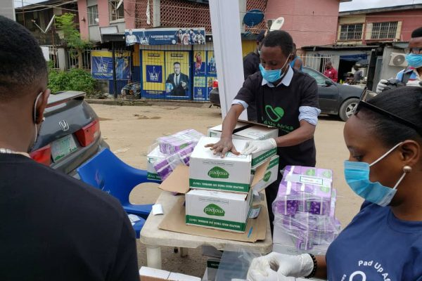 Period Don't Stop Pandemic: Pad Up Impacts Over 300 Girls In Lagos